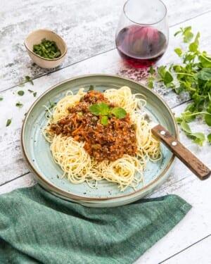 Spaghetti och köttfärssås i Crock-Pot