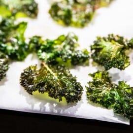 Friterad grönkål