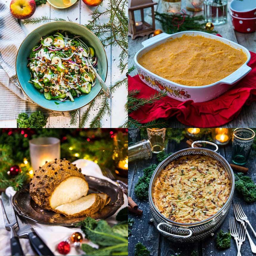 7 recept till ett grönare julbord