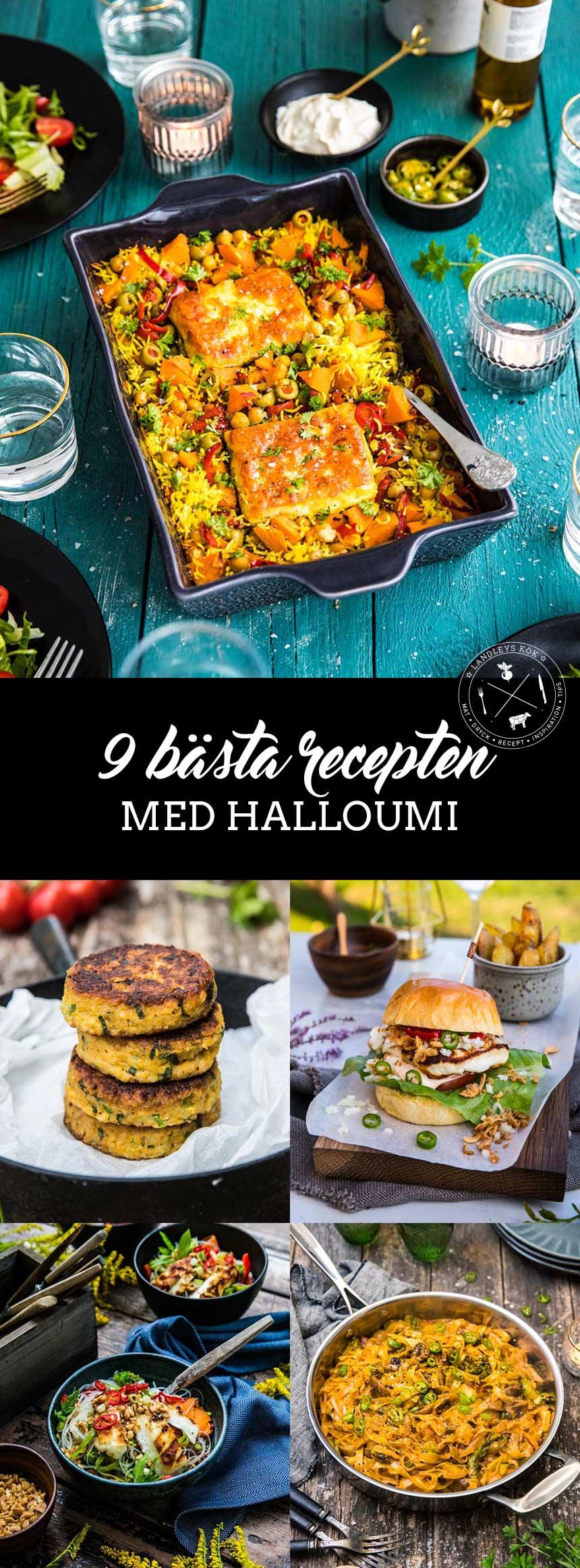 9 bästa recepten med halloumi
