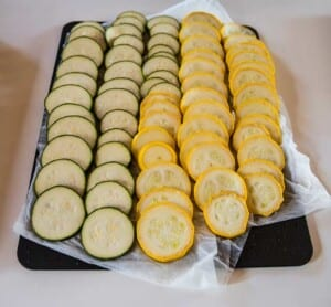 Urvattnad zucchini