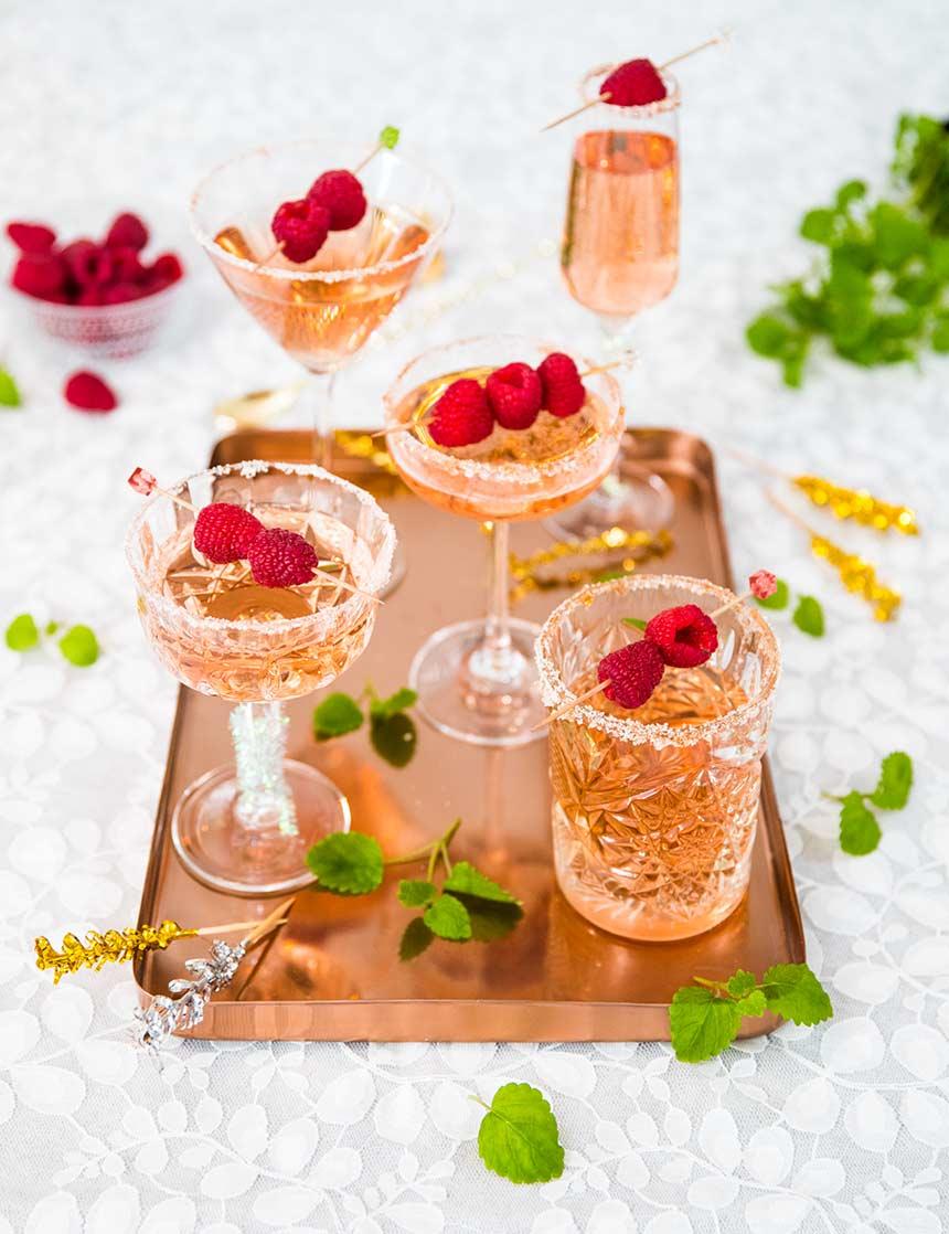 Wine Spritzer med rosévin